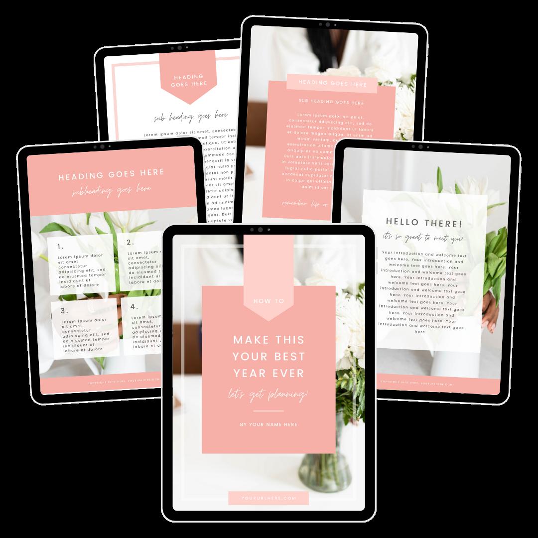 bloom ebook template